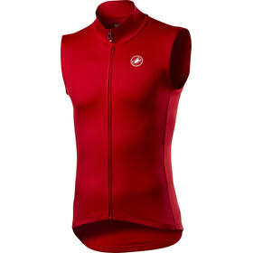 Castelli Pro Thermal Mid Chaleco Hombre, red